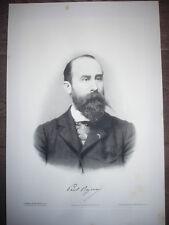 GRANDE GRAVURE 1904 DOCTEUR PAUL REYNIER