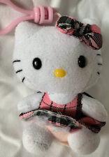 Hello Kitty Ty Backpack Clip Sanrio Key Chain