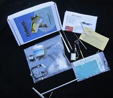 KIT, FLY TYING TOOLS & MATERIAL NEW BY FISHNETT
