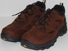 "MEN SHOES ""THOROGOOD"" OXFORDS  Size 8.5W  BROWN STEEL TOE"
