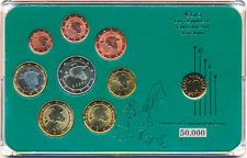 ESTONIA ESTONIE ESTLAND MINT SET KMS 8 COINS 1 CENT - 2 EURO BUNC 2011