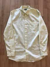 Levi's California One Pocket Button Front Cotton Oxford Size Medium