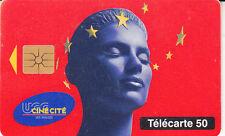 France télécarte 50  UGC Cinécité  Les Halles