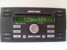 Ford Radio 6000CD Focus, C-Max, Fiesta, Fusion, Transit, Connect, Galaxy, S-Max