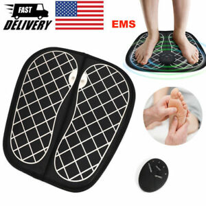 Controllable Electric EMS Foot Massager Reshaping Pad Feet Muscle Stimulator Mat