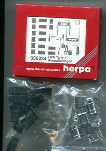 Herpa 05234,1:87,LKW Tank-/ Auspuffanlagen,Zubehör,Ersatzteile