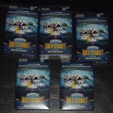 Skylanders Battlecast Battle Packs (5) and Sealed Booster Packs (24) (FREE GIFT)