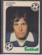 Monty Gum - Football 1975/76 - Lyons - Everton