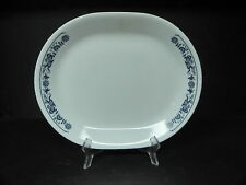 Corning Corelle Old Town Blue Oval Platter  ..