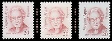 Virginia Apgar 2179 2179a 2179b Great Americans 20c Color Set of 3 MNH - Buy Now