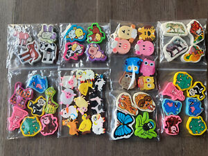 E19 Vintage 80s 90s Eraser Rubbers - Job Lot Of Various Cute Animal Erasers