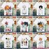 Anime The Promised Neverland T-shirt Unisex Short Sleeve Tops Men's Cosplay #Z43