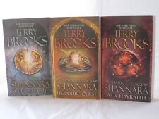 The Dark Legacy of Shannara #1-3: Book Series by Terry Brooks (Mass Market PB)
