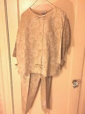Vintage 1940's Hostess Outfit- Loungewear Set Fashioned by Flobert