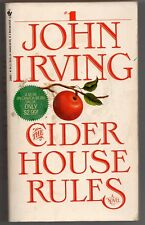 The Cider House Rules by John Irving, pb 1985- BUY ANY 4 FOR FREE SHIPPING