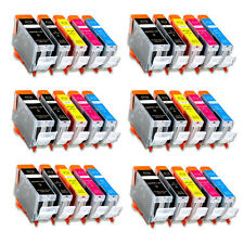 30 Pack New Ink Set fits Canon PGI-5 CLI-8 Pixma iP4500 iP4300 MP500 MP530 MP600