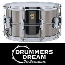 """Ludwig Black Beauty 14"""" x 8"""" Snare Drum LB408 Brass Shell RRP"""