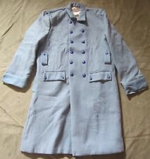 WWI FRENCH M1915 SKY BLUE WOOL OVERCOAT- LARGE