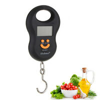 2018 50kg Hanging Digital LCD Electronic Scales Travel Luggage Weighing Handheld