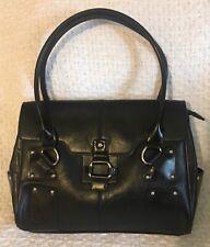 RINA RICH Express Faux Leather Satchel Shoulder Handbag Purse
