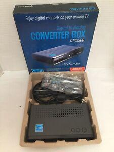 Digitalstream Digital to Analog Converter Box DTX9900 DTV Tuner Complete