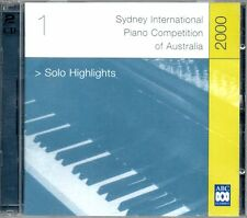 Sydney International Piano Competition Australia 2000 Solo Highlights - MUSIC CD