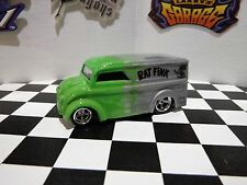 Hot Wheels Dairy Delivery Custom Paint Flames Rat Fink Real Riders