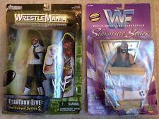 New Mankind Figure Titan Tron Smackdown & Signature Series 1 WWF WWE LOT Foley
