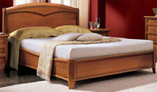 Lit double 180x200 Futon en noyer placage classique meubles de style Italia