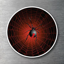 Redback Spider & Web Sticker  Premium water & fade proof 7 year vinyl