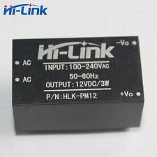 Hi-link HLK-PM12 AC-DC 220V to 12V 3W Buck Step Down Power Supply Module Convert