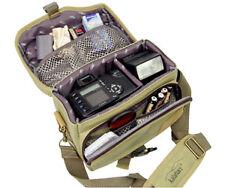 Kameratasche Fototasche Kalahari Mata K-6 Khaki Camera Bag