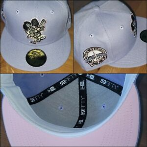 7 1/2 Detroit Tigers Coked Out Tiger Fitted Cap Cotton Candy sportsworld165