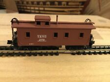 N Scale Micro trains 34' wood sheathed caboose TEXAS & NEW ORLEANS NIB