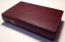 Holy Bible, King James Version, Collins, Ruby Text, Vintage 1958 Hardback
