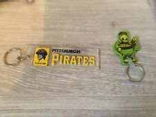 2 Pittsburgh Pirates Keychains Key Chain Lot Group