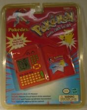 Pokemon Pokedex Electronic Ash's Role Play Toy Tiger Vintage SEALED Package READ
