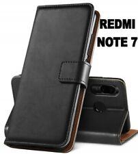COVER Xiaomi Redmi Note 7 CUSTODIA FLIP PELLE MAGNETICA PREMIUM OMAGGIO