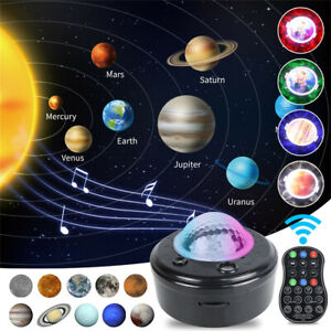 Planet Star Projector Night 3 in 1 LED 2021 New Light Planets Projection unique