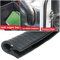 Reinforced Self-Gripping Car Door Edge, Bodywork, Egine Bay Edging Trim - 6x9x5