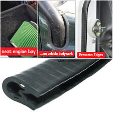 Reinforced Self-Gripping Car Door Edge, Bodywork, Egine Bay Edging Trim -10x13x5