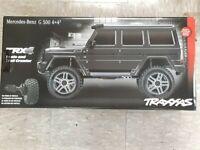 Traxxas 82096-4 TRX-4 Trail Crawler Mercedes-Benz G500 4X4 BLK w/Free Light Kit!