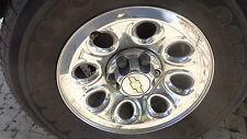 "Chrome 17"" Wheel & Center Cap Chevy Suburban LT 4x4 00 01 02"