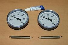 2 Anlegethermometer Set Ø63mm -60°C + Wärmeleitp.(5275#
