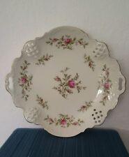 Rosenthal Kuchenteller Kuchenplatte Obstteller durchbrochen  mit Rosen