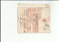 Prussia / Neuss - Neviges Handwritten. 1836 on Kabinett-Postschein
