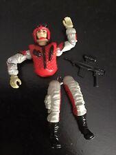 """Vtg G.I. Joe 1987 Crazy Legs Action Figure For Repair S6 V1 3-3/4"""" Weapon Gun"""