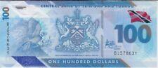 Trinidad & Tobago banknote 100 Dollars 2019 Polymer New,  UNC