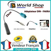 Câble Adaptateur Antenne Femelle DIN FAKRA / FAKRA mâle male fm voiture