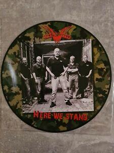 Cocksparrer - Here We Stand Pic.LP